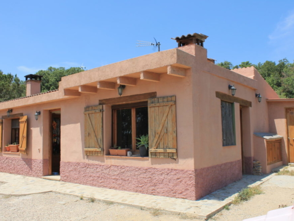 Spain, Rustic house, spectacular views, wind turbine, solar panels, off grid property