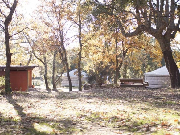 Yurt retreat centre for sale, Spain using permaculture principles